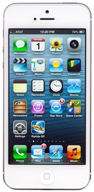 Smartphone iPhone 5S 64GB Silver