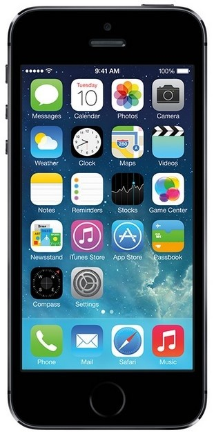 Smartphone iPhone 5S 64GB Space gray