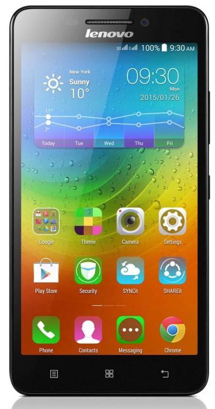 Smartphone Lenovo  A5000  black ROZBALENO