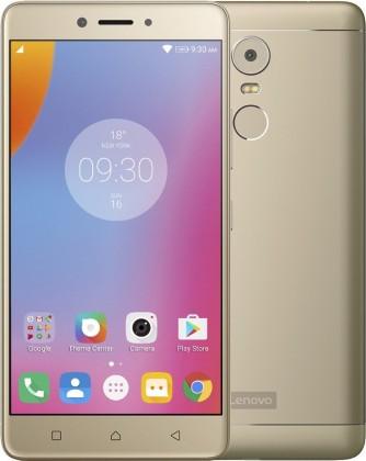 Smartphone Lenovo K6 Note Dual SIM, zlatá