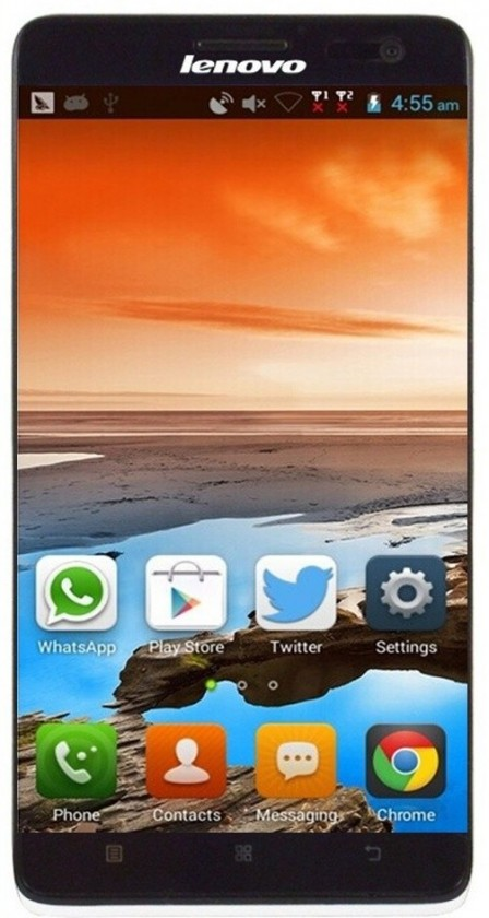 "Smartphone LENOVO S856 Quad-core 1.2Ghz, 5.5"" HD IPS, Dual-Sim, 1GB, 8GB, An"