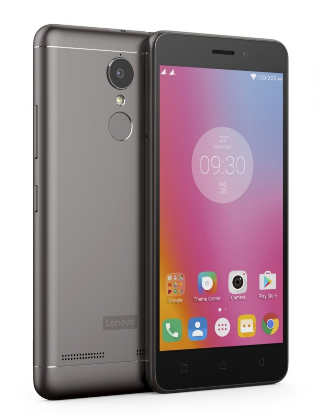 Smartphone Lenovo Vibe K6 Power Dual SIM, šedá
