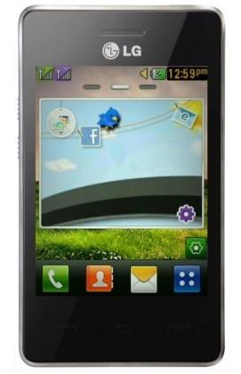 Smartphone LG T375 T3 dual SIM Black