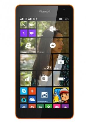 Smartphone Microsoft Lumia 535 Bright Orange