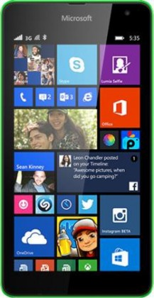 Smartphone Microsoft Lumia 535 DS Bright Green