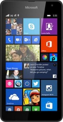 Smartphone Microsoft Lumia 535 (Dual SIM) Black ROZBALENO