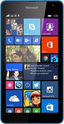 Smartphone Microsoft Lumia 535 (Dual SIM) Cyan ROZBALENO