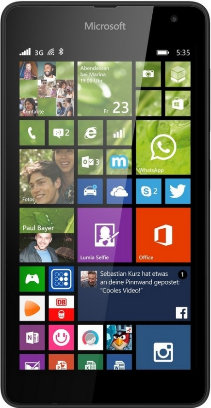 Smartphone Microsoft Lumia 535 SS Black