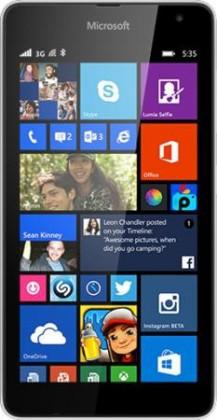 Smartphone Microsoft Lumia 535 White POUŽITÉ, NEOPOTŘEBENÉ ZBOŽÍ