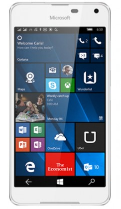 Smartphone Microsoft Lumia 650 Dual SIM, bílá ROZBALENO