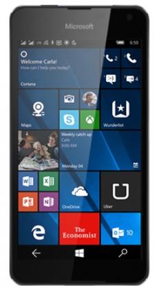 Smartphone Microsoft Lumia 650 Dual SIM, černá ROZBALENO