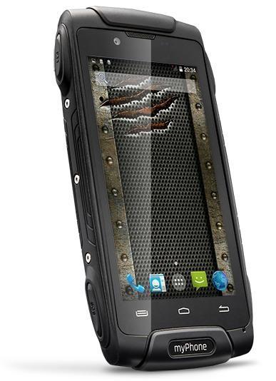 Smartphone myPhone Hammer AXE, černá POUŽITÉ, NEOPOTŘEBENÉ ZBOŽÍ