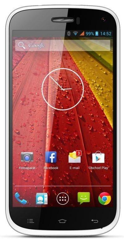 Smartphone myPhone S-LINE bílý