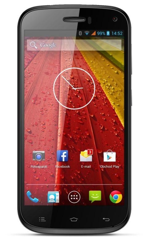 Smartphone myPhone S-LINE černý