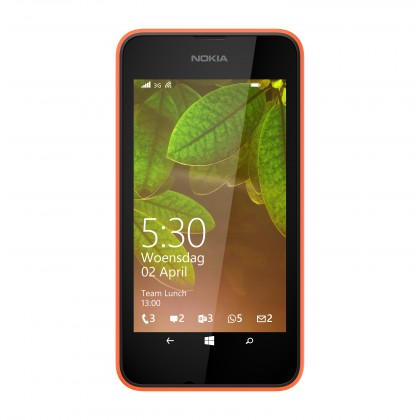 Smartphone Nokia Lumia 530 (Dual SIM) Bright Orange