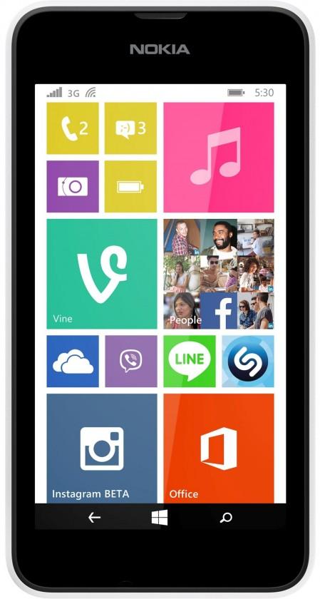 Smartphone Nokia Lumia 530 (Dual SIM) White