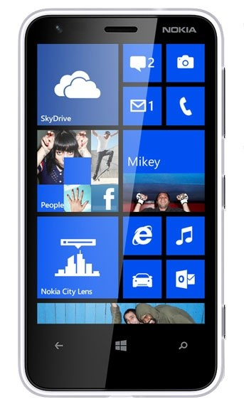 Smartphone Nokia Lumia 620 bílá