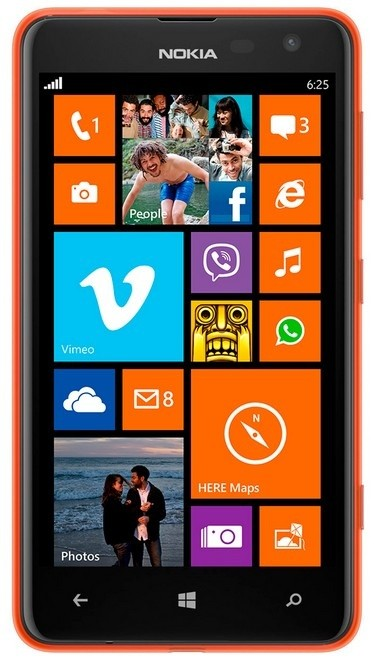 Smartphone Nokia Lumia 625 Orange ROZBALENO