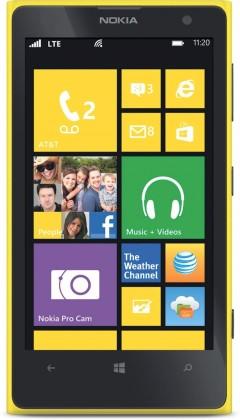 Smartphone Nokia Lumia 630 (Dual SIM) Bright Yellow + Black zadní kryt