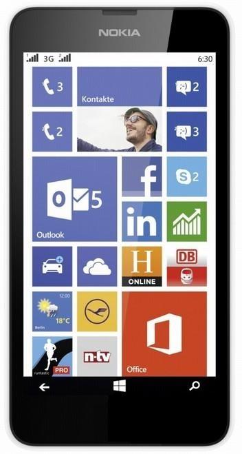 Smartphone Nokia Lumia 630 White