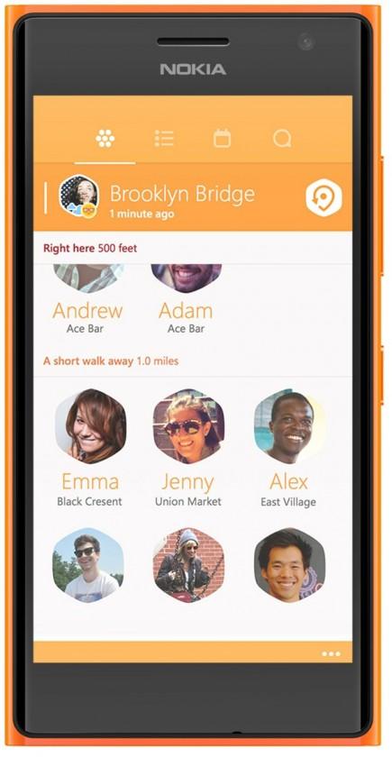 Smartphone Nokia Lumia 730 (Dual SIM) Bright Orange