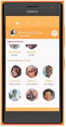 Smartphone Nokia Lumia 735 Bright Orange