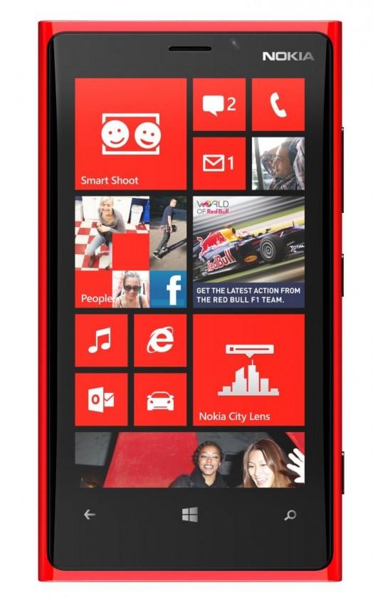 Smartphone NOKIA Lumia 920 Red ROZBALENO
