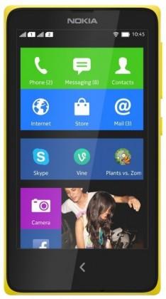 Smartphone NOKIA XL DS Yellow
