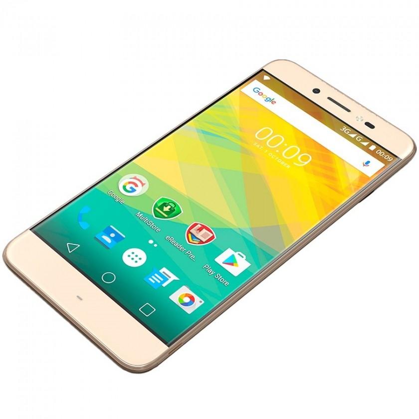 Smartphone Prestigio Grace Z5, zlatá