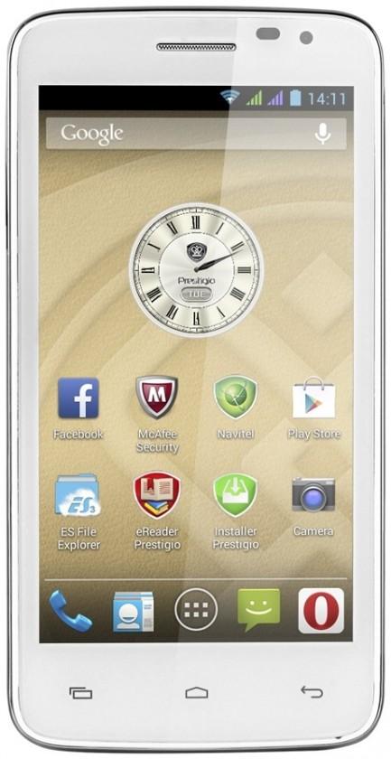Smartphone Prestigio MultiPhone 3501 DUO White