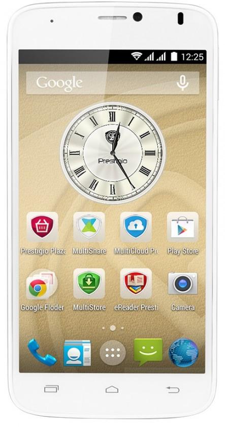 Smartphone Prestigio MultiPhone 3502 DUO bílý