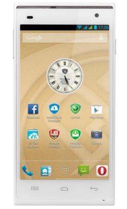 Smartphone Prestigio MultiPhone 5505 DUO bílý