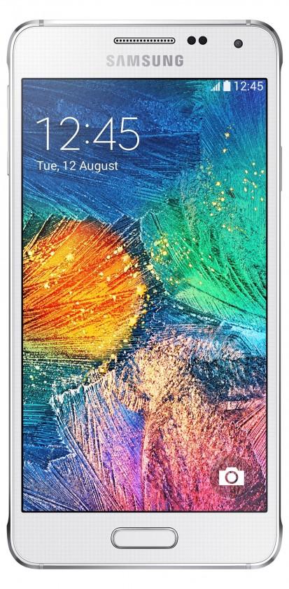 Smartphone Samsung G850 Galaxy Alpha White