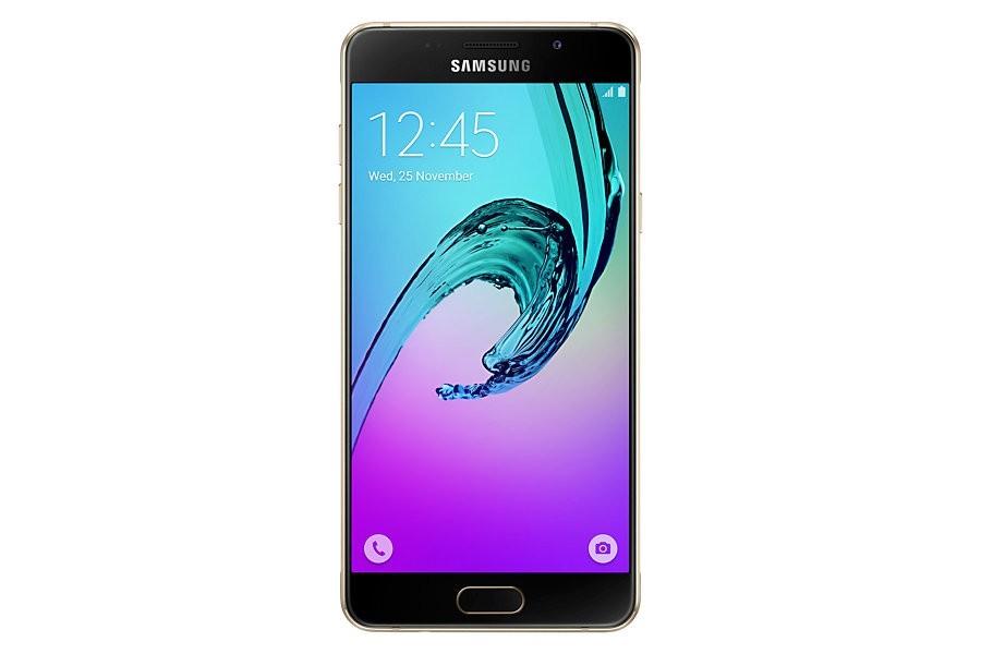 Smartphone Samsung Galaxy A5 2016 (A510F), zlatá