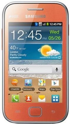 Smartphone Samsung Galaxy Ace Duos (S6802), oranžový