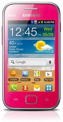 Smartphone Samsung Galaxy Ace Duos (S6802), růžový ROZBALENO