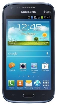 Smartphone Samsung Galaxy Core Duos (i8262), modrý