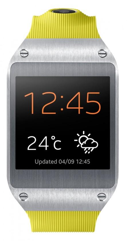 Smartphone Samsung Galaxy Gear (V7000), zelený