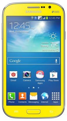 Smartphone Samsung Galaxy Grand Neo Duos (i9060), žlutý
