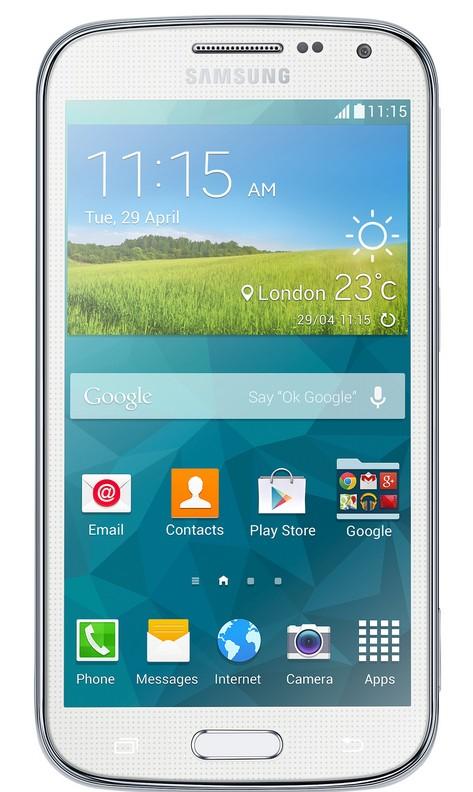 Smartphone Samsung Galaxy K Zoom (SM-C115), bílý ROZBALENO