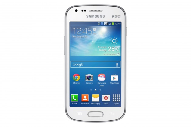 Smartphone Samsung Galaxy S Duos 2 (S7582), bílý ROZBALENO