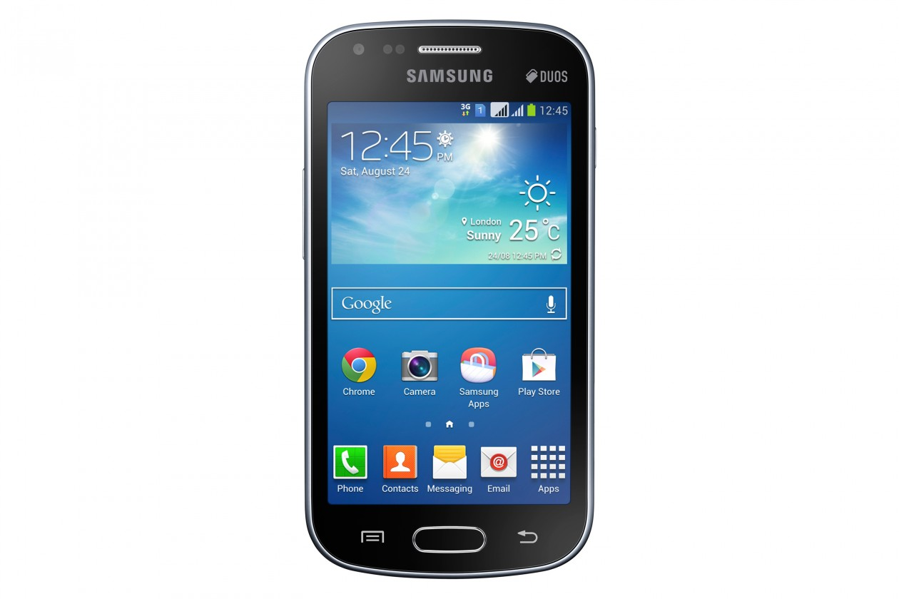 Smartphone Samsung Galaxy S Duos 2 (S7582), černý ROZBALENO