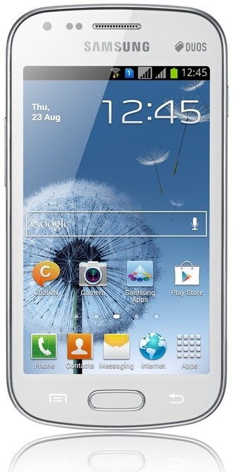 Smartphone Samsung Galaxy S Duos (S7562), bílý