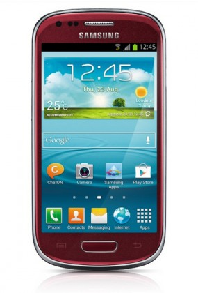 Smartphone Samsung Galaxy S III mini (i8190), červený