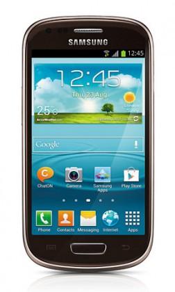 Smartphone Samsung Galaxy S III mini (i8190), hnědý