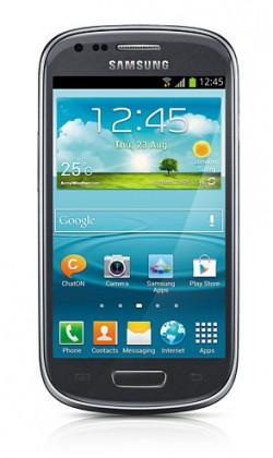 Smartphone Samsung Galaxy S III mini (i8190), šedý