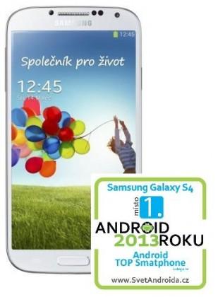Smartphone Samsung Galaxy S4 (i9505), bílý
