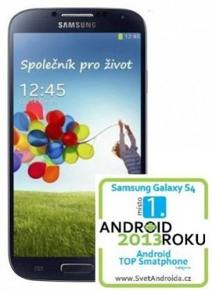 Smartphone Samsung Galaxy S4 (i9505), černý ROZBALENO