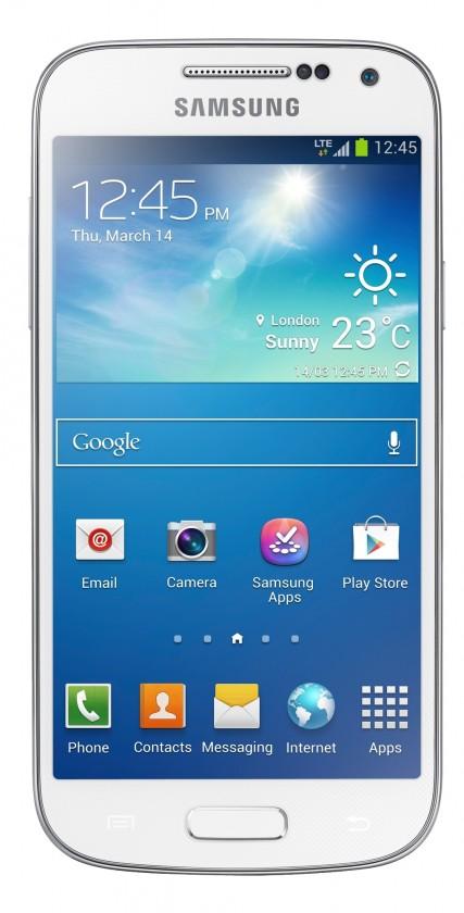 Smartphone Samsung Galaxy S4 Mini (i9195), bílý