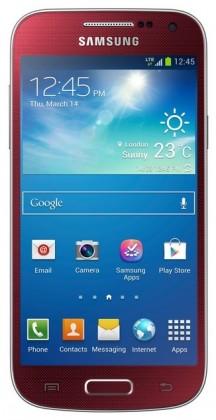 Smartphone Samsung Galaxy S4 Mini (i9195), červený